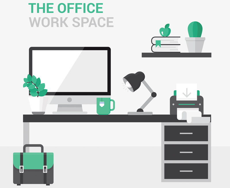 Health and wellbeing in office design archives officeworks for Office design ergonomics