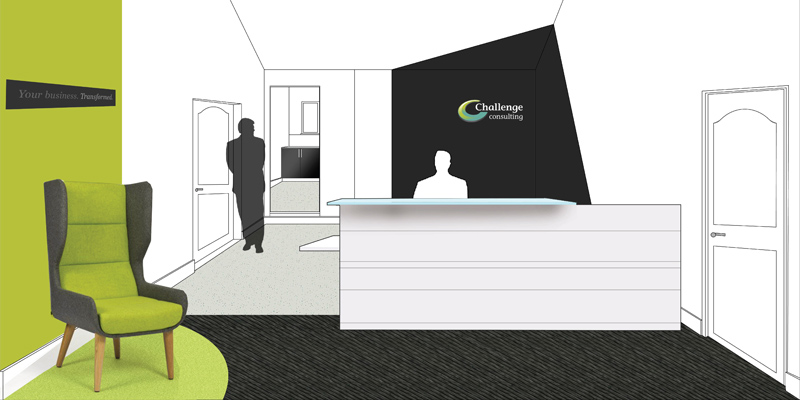 Challenge consulting office design