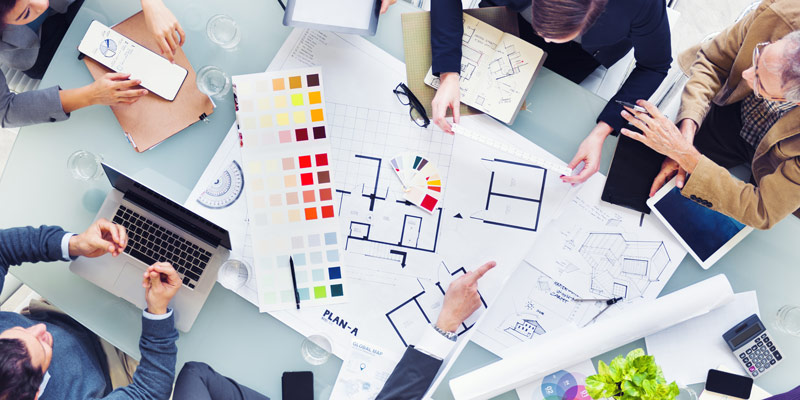 designing office layouts