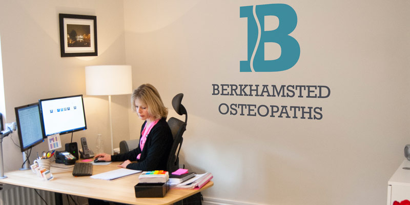 berkhamsted osteopaths reception