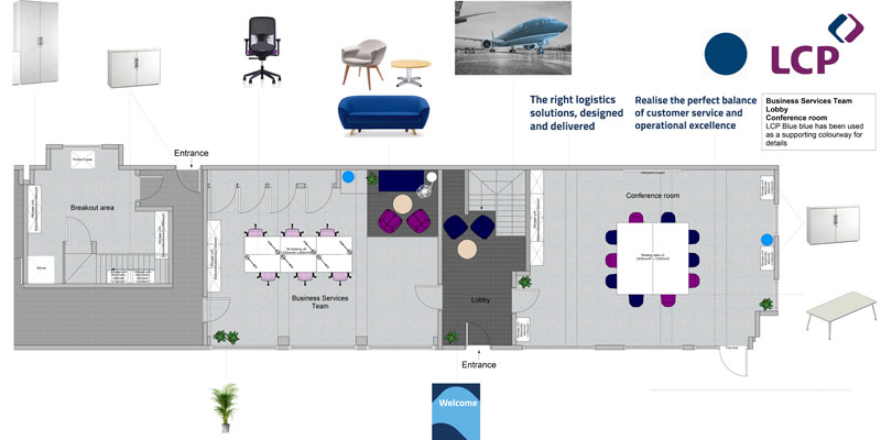 LCP consulting office layout