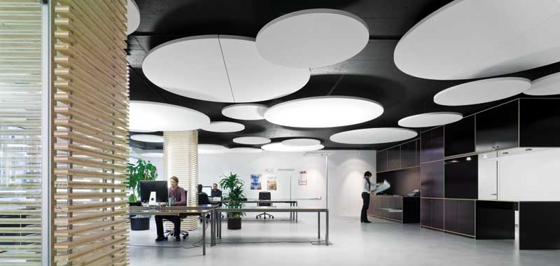Office acoustic design
