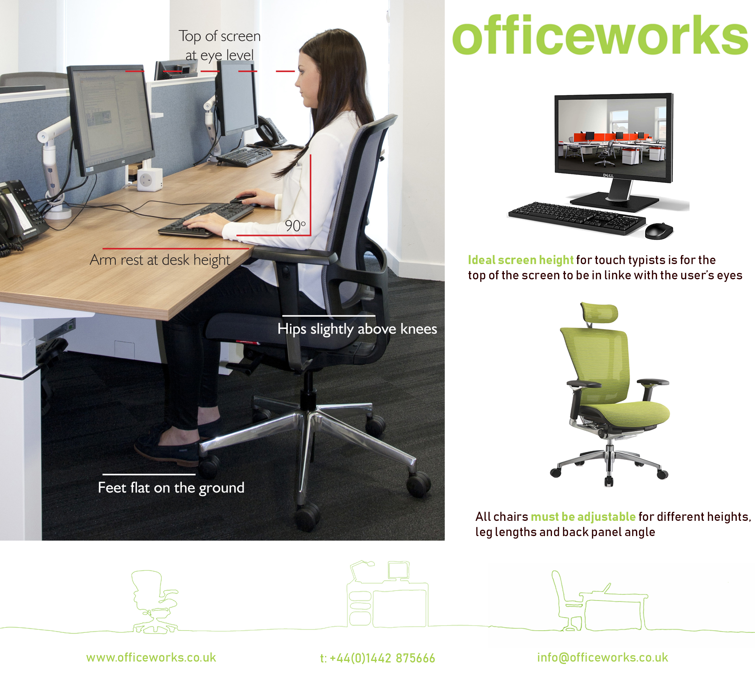 Posture Tips For When You Re Working From Home Officeworks